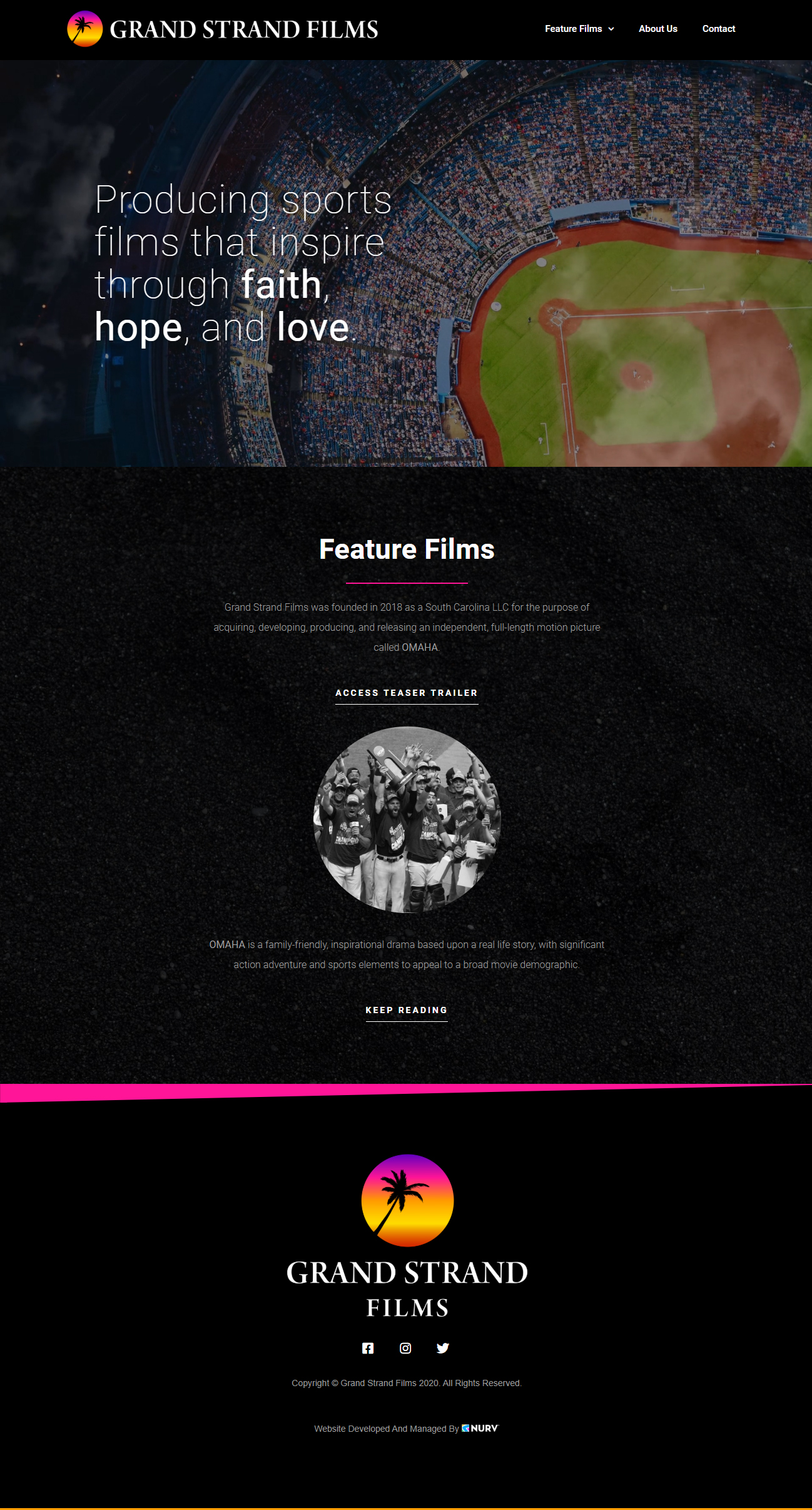 Grand Strand Films Homepage