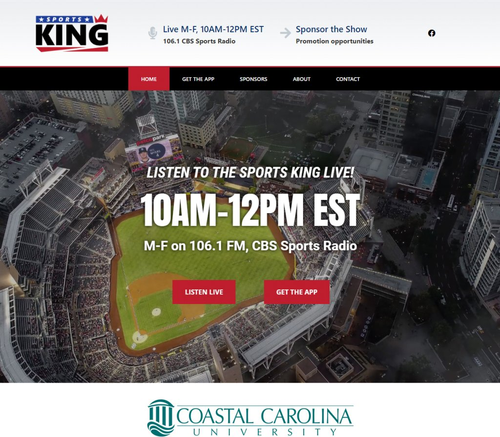 The Sports King Homepage